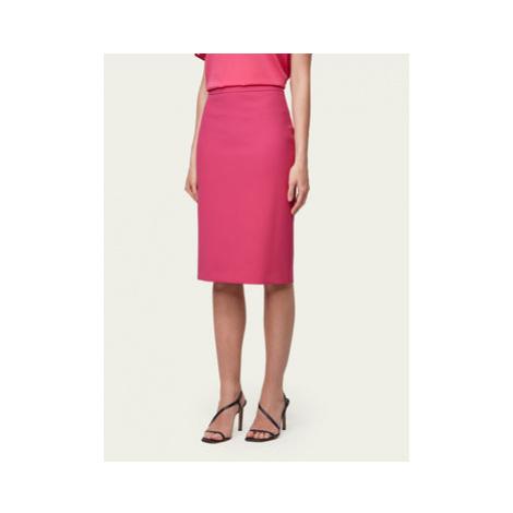 Boss Puzdrová sukňa Vinoa1 50432874 Ružová Slim Fit Hugo Boss