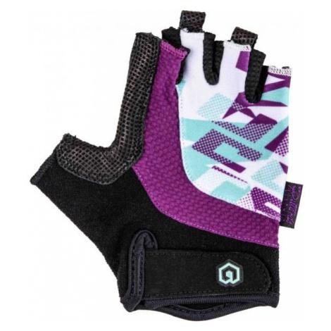 Arcore SPHINX fialová - Detské cyklistické rukavice