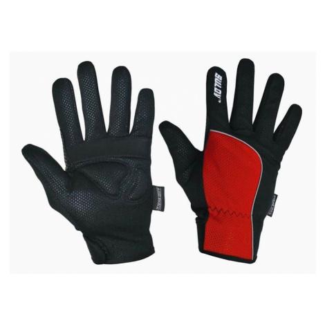 Zimní rukavice SULOV pro běžky i cyklo, červené