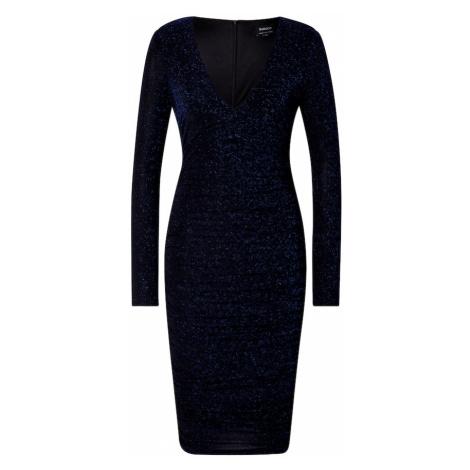 Bardot Kokteilové šaty  námornícka modrá