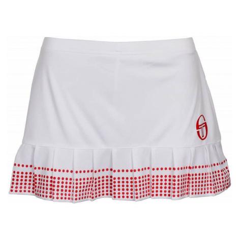 Phoenix Skirt dámská sukně barva: bílá-červená;velikost oblečení: L Sergio Tacchini