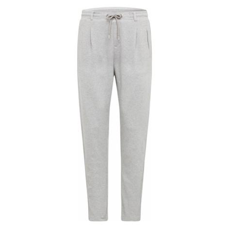 Urban Classics Plisované nohavice  svetlosivá