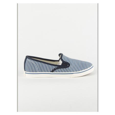 Topánky Polo Ralph Lauren Janis Modrá