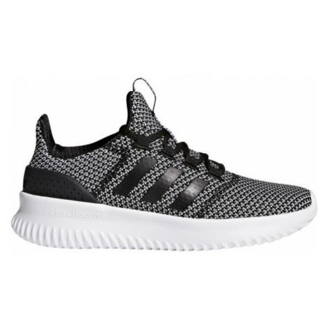 adidas CLOUDFOAM ULTIMATE tmavo sivá - Detská obuv na voľný čas