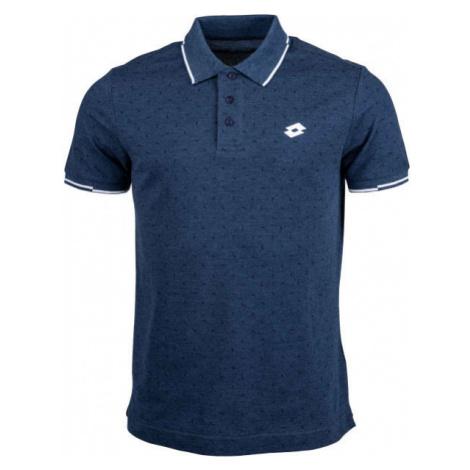 Lotto POLO ELBA MEL PQ tmavo modrá - Pánske polo tričko