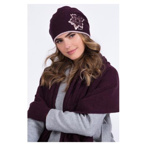 Kamea Woman's Hat K.20.042.14 Purple