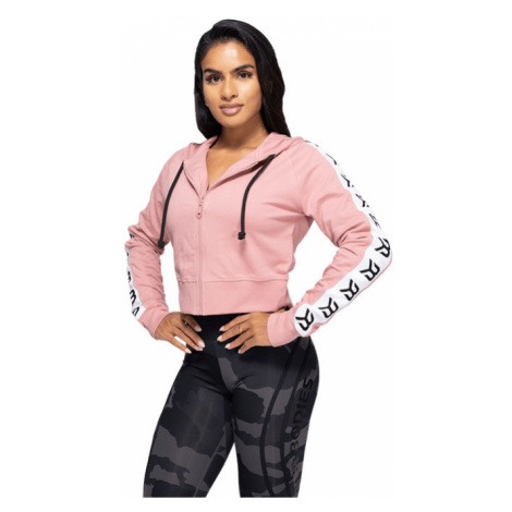 Better Bodies Crop mikina Vesey Heather Pink