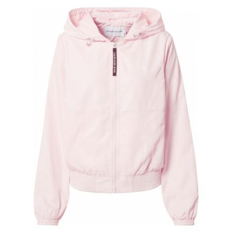 Calvin Klein Prechodná bunda  ružová