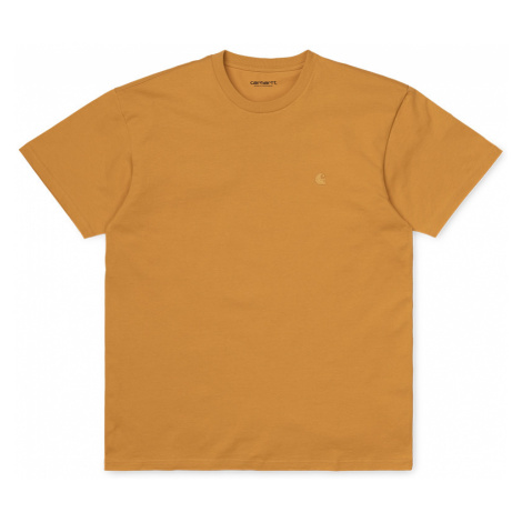Carhartt WIP S/S Chase T-Shirt Winter Sun-XL žlté I026391_0G1_90-XL