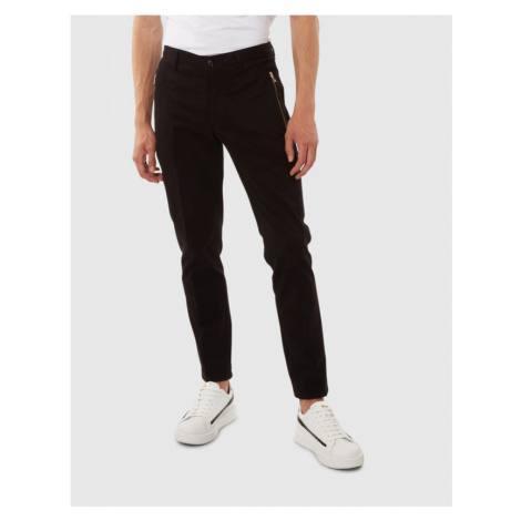 Nohavice La Martina Man Trousers Twill Stretch