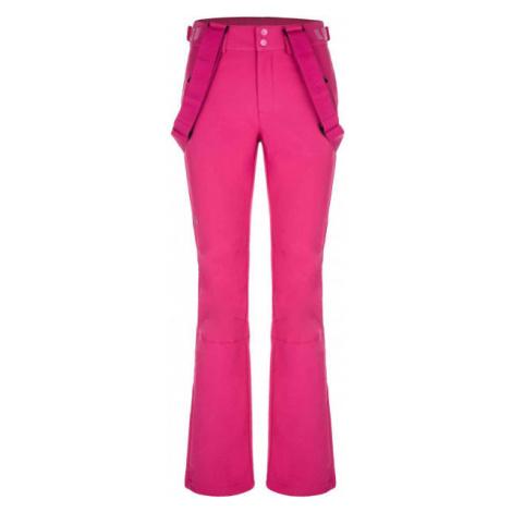 Loap LYA ružová - Dámske lyžiarske nohavice