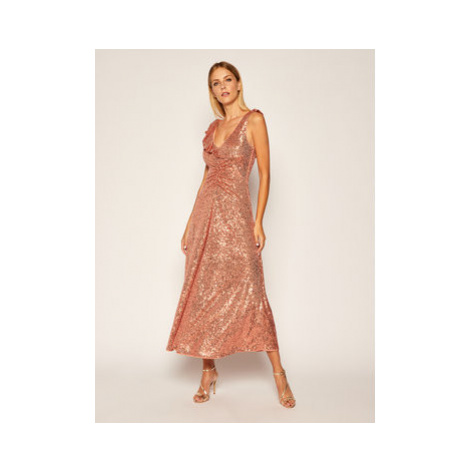 Pinko Koktejlové šaty Australe 20202 PBK2 1B14N5.7829 Ružová Regular Fit