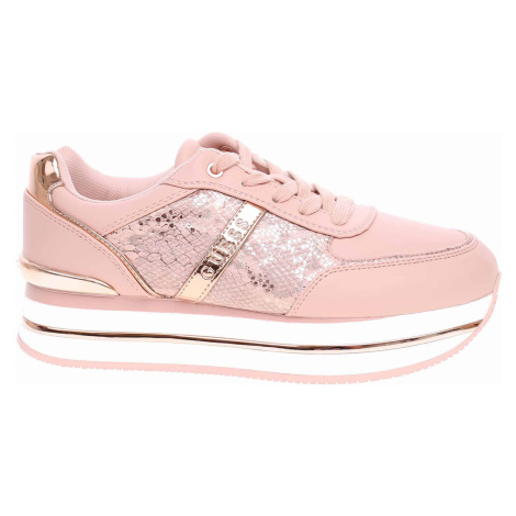 Dámská obuv Guess Dafnee Python blush FL7DFEPEL12 blush