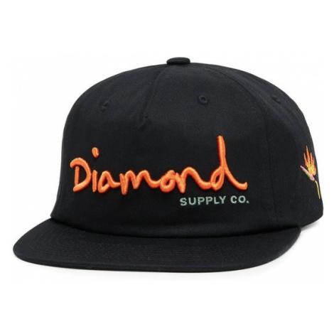 Šiltovka Diamond OG Script Snapback Farba: Čierna, Pohlavie: pánske Diamond Supply Co.