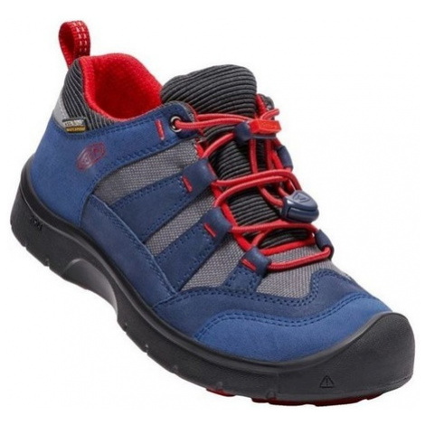 Detské topánky Keen Hikeport WP Jr, dress blues / fire red