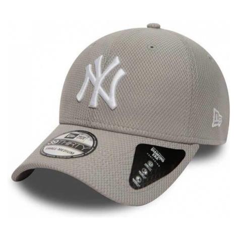 Šiltovka New Era 39thirty MLB Diamond Era NY Yankees Grey - Farba: Šedá, Pohlavie: UNI
