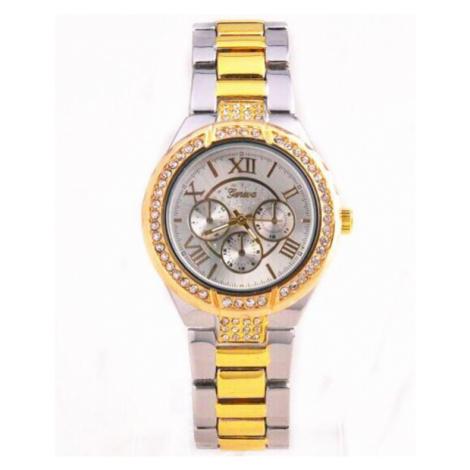 Dámske hodinky Geneva - strieborné Gold