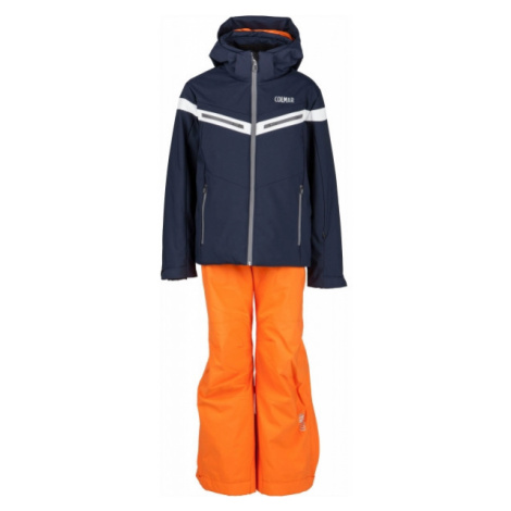 Colmar JR BOY 2-PC SUIT oranžová - Chlapčenský lyžiarsky komplet