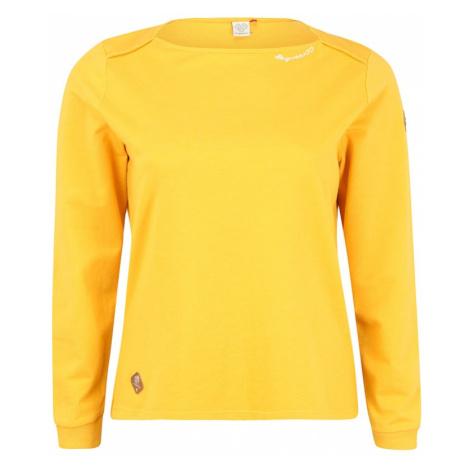 Ragwear Plus Mikina 'PARDI'  žltá