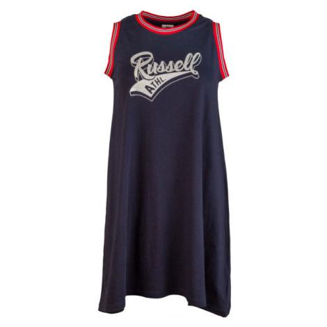 Russell Athletic SLEVELESS DRESS tmavo modrá - Dámske šaty