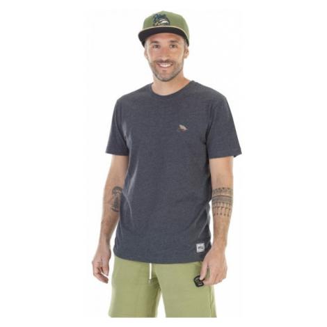 Picture RANDALL čierna - Pánske tričko s potlačou