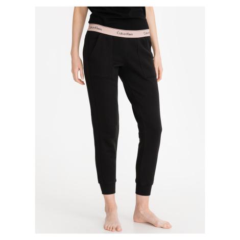 Kalhoty na spaní Calvin Klein Čierna