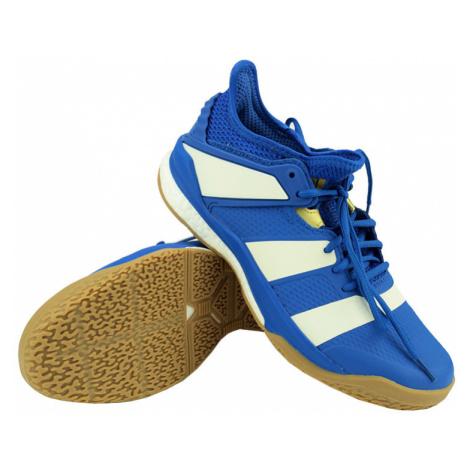 Pánska halová obuv adidas Stabil X Blue/White