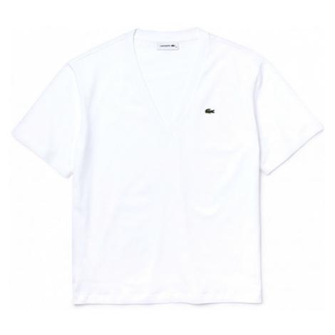 Lacoste WOMENS TEE SHIRT biela - Dámske tričko