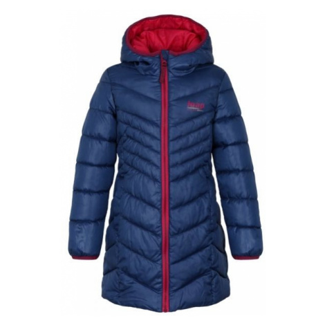 Loap INOKA modrá - Dievčenský kabát