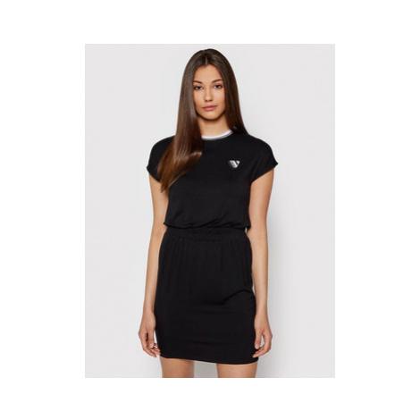 Volcom Každodenné šaty Siiya B1312110 Čierna Regular Fit