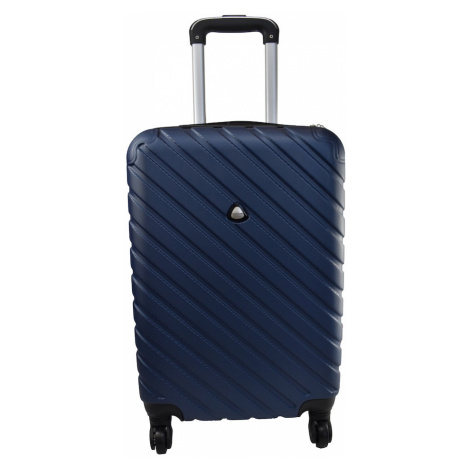"Semiline Unisex's Suitcase 5457-20 Navy Blue 20"""