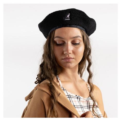 Čierna baretka Plush Beret – S/M Kangol