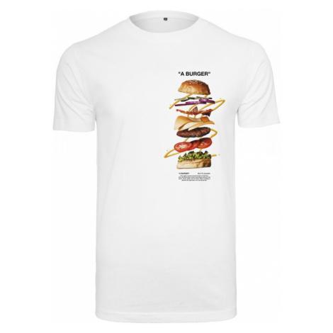 A Burger Tee - white mister tee