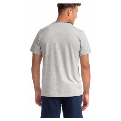 Pohodlné dvojdielne pánske pyžamo 14750 Vamp