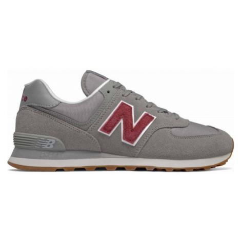 New Balance ML574SCC šedá - Pánska voľnočasová obuv