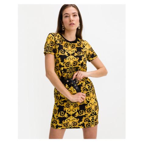 Versace Jeans Couture Šaty Čierna Žltá