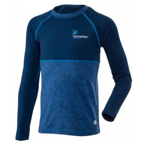 Klimatex WILLY modrá - Detské funkčné tričko
