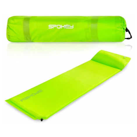 Samonafukovacia karimatka SPOKEY Savory Pillow zelená