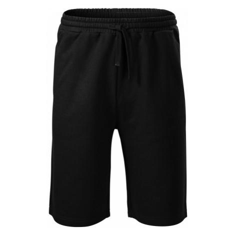 Pánske teplákové šortky, čierna