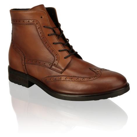 Pat Calvin Lace up boot brogue hnedá