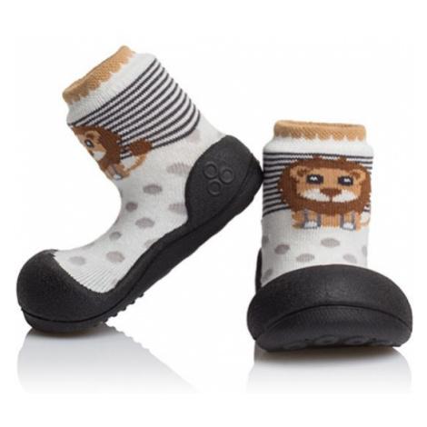 ATTIPAS Detské topánočky ZOO Black