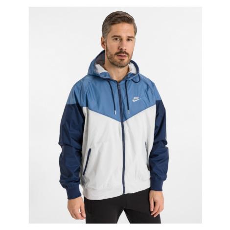 Nike Sportswear Windrunner Bunda Modrá