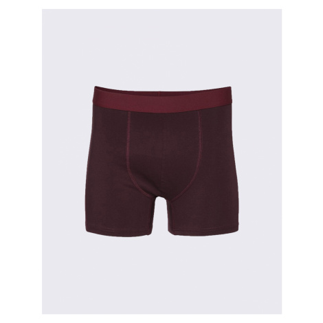 Colorful Standard Classic Organic Boxer Briefs Oxblood Red