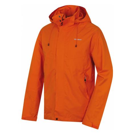 Husky Nutty oranžová, Pánska hardshellová bunda