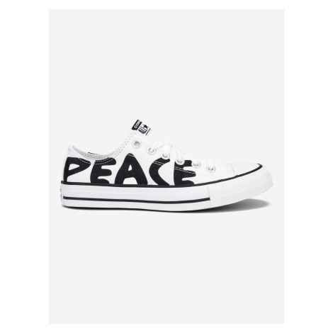 Chuck Taylor All Star Peace Powered Tenisky Converse Biela