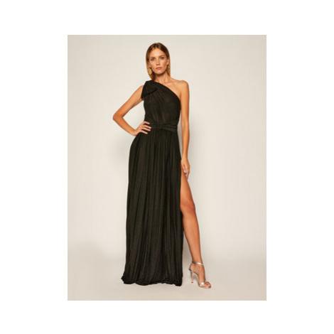 Elisabetta Franchi Večerné šaty AB-012-06E2-V439 Čierna Regular Fit