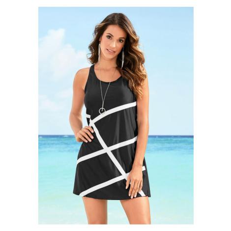 Plážové šaty z materiálu na kúpanie bonprix