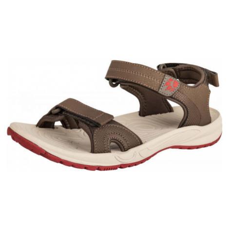 Jack Wolfskin LAKEWOOD CRUISE SANDAL béžová - Dámske turistické sandále