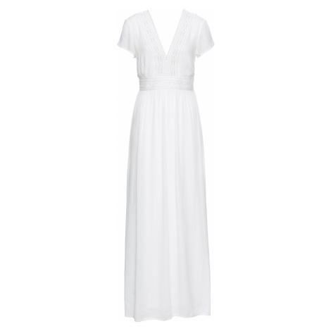 Maxi šaty s čipkou, letné bonprix