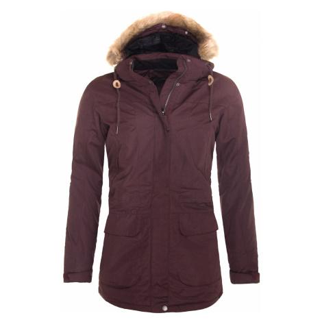Zimní kabát dámský HANNAH Galiano Chocolate mel